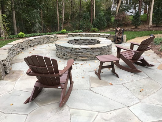 Stacked Stone Fire Pits - H & G | Hertzler & George ...