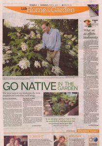 native planting newspaper